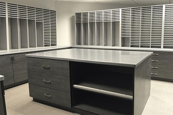 office storage, mail storage