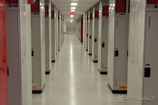 Storage for Athletic Facilities - Team Sports Equipment Storage Lockers