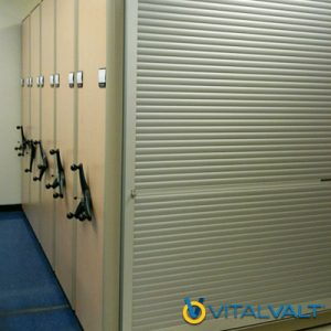 HIgh Density Storage System Security Shutters