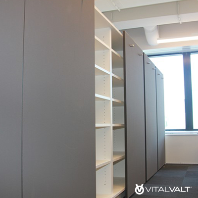 Modular Millwork Casework Storage Systems for Small Offices