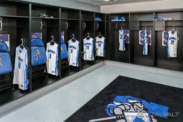 Custom Team Sports Storage - Player Storage Lockers