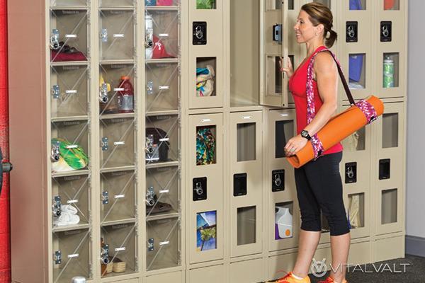 Temporary Day Use Lockers - Keyless Lockers