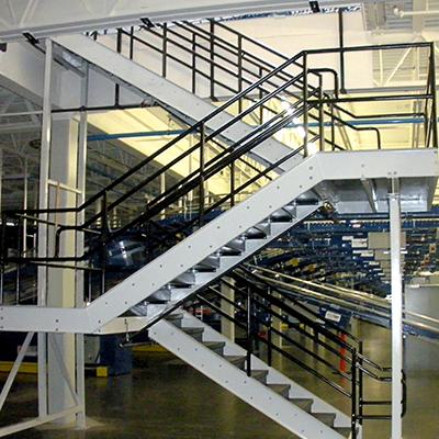 Warehouse Work Platforms & Stairways
