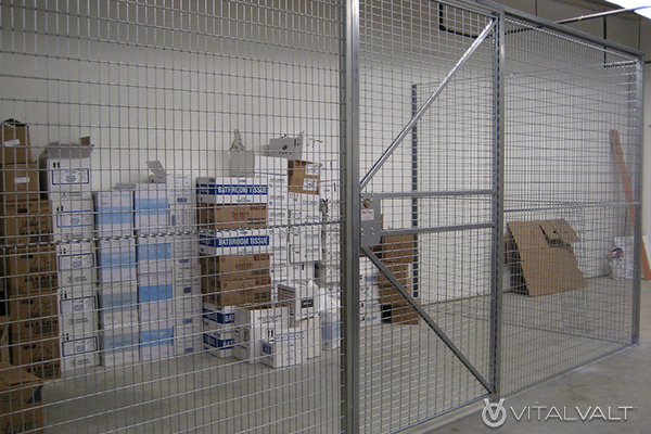 Residential Tenant Storage Wire Cage Lockers
