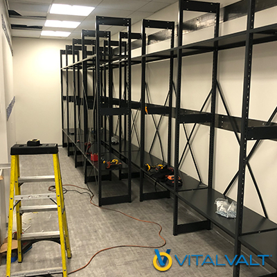 Office Storage System Install