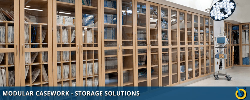 Modular Casework System for Storage
