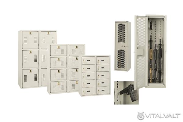 Deployment Room Storage - Weapon Lockers - Ammo Lockers