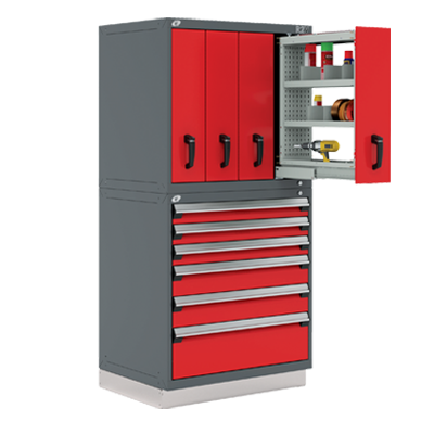 Shelving Systems - Vertical Drawers