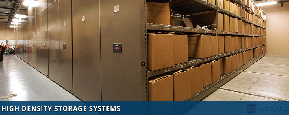 High Density Storage Systems- Mobile Storage Systems