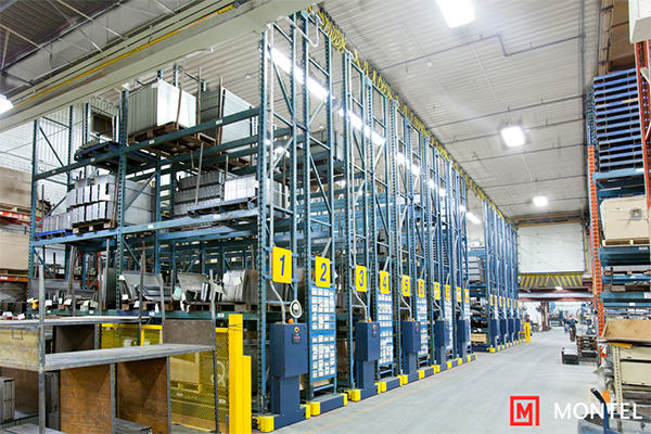Industrial Pallet Storage System, Warehouse Racking System