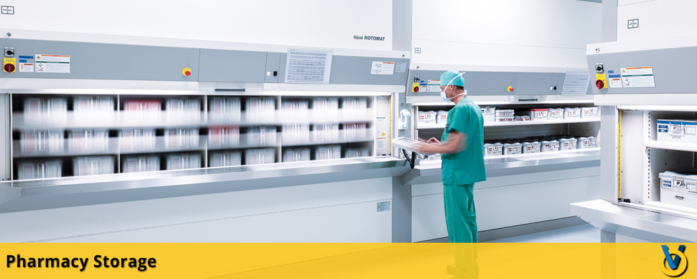Pharmacy Shelving - Healthcare Storage Solutions