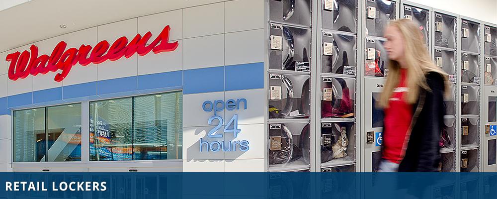 Retail Lockers - Pickup Lockers - Storage Lockers