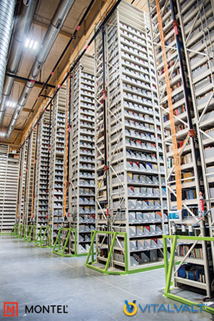Hi Bay Shelving System for Archive Storage Documents