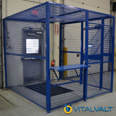 Trucking Access Cages - Secure Driver Access