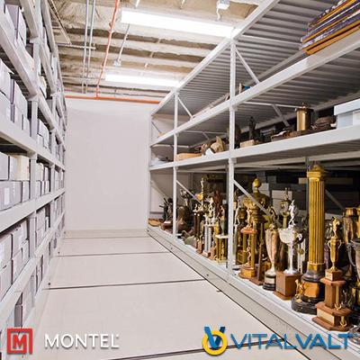 Wide Span Shelving - Museum Shelves - Heavy Duly Shelves
