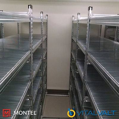 Wire Shelving Units - Cold Storage Shelving