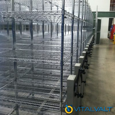Wire Shelving - Restaurant Industry - Storage System
