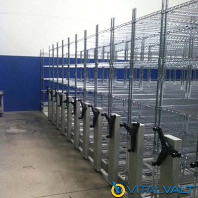 Cold Storage Wire Shelving