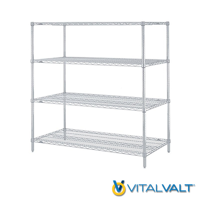 Wire Shelving - Static Wire Shelving Units