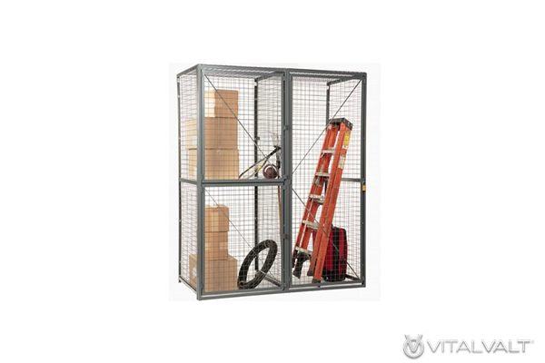 Industrial Storage Lockers - Wire Storage Units